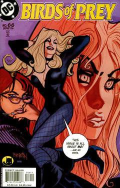Copertina BIRDS OF PREY n.66 - Sensei & Student, Part Five: Murder & Mystery, DC COMICS
