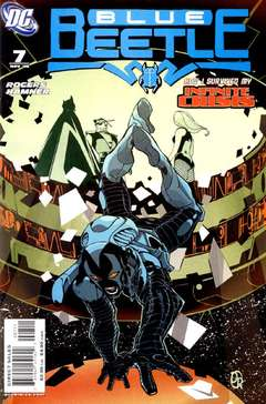 Copertina BLUE BEETLE serie n.7 - Brother's Keeper, DC COMICS