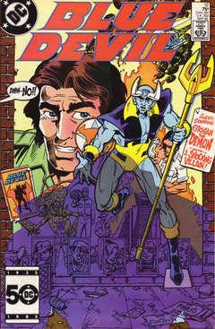 Copertina BLUE DEVIL n.12 - He's No Super-Hero, DC COMICS