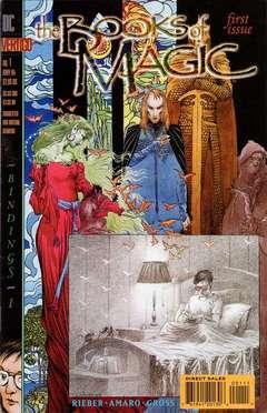 Copertina BOOKS OF MAGIC S75 1994 n.1 - Bindings, Book 1: Tearing Down, DC COMICS