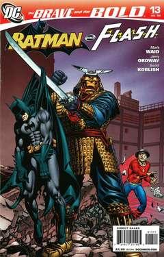 Copertina BRAVE AND THE BOLD n.13 - American Samuroids, DC COMICS