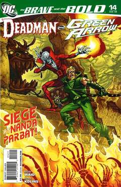 Copertina BRAVE AND THE BOLD n.14 - The Ghost Killers of Nanda Parbat, DC COMICS