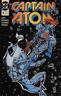 Copertina CAPTAIN ATOM S57 n.36 - The Secret Origin of Everyone, DC COMICS
