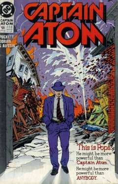Copertina CAPTAIN ATOM S57 n.51 - Sins of the Fathers, DC COMICS