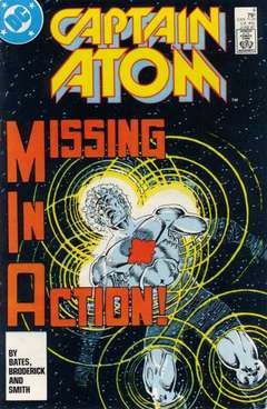 Copertina CAPTAIN ATOM S57 n.4 - Missing In Action, DC COMICS