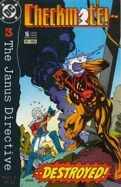 Copertina CHECKMATE S33 n.16 - The Janus Directive, Part 3: Shadow Knights, DC COMICS