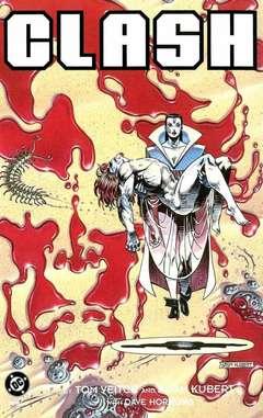 Copertina CLASH M3 n.3 - The First Men and the Last Man, DC COMICS
