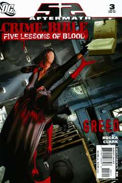 Copertina CRIME BIBLE FIVE LESSONS BLOOD n.3 - The Third Book of Blood: The Lesson of Greed, DC COMICS