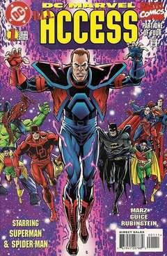 Copertina DC MARVEL ALL ACCESS n.1 - The Crossing!, DC COMICS