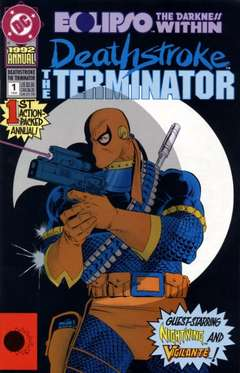 Copertina DEATHSTROKE ANNUAL S4 n.1 - A Thousand Points of Night, DC COMICS