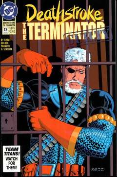 Copertina DEATHSTROKE HUNTED S60 n.12 - Sympathy for the Devil, DC COMICS