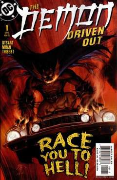Copertina DEMON DRIVEN OUT M6 n.1 - Verse I: New Blood, DC COMICS