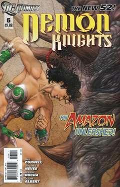 Copertina DEMON KNIGHTS 2011 n.6 - The Balance, DC COMICS