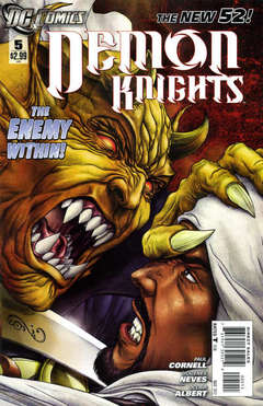 Copertina DEMON KNIGHTS 2011 n.5 - The Traitor, DC COMICS