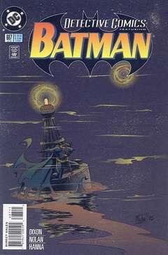 Copertina DETECTIVE COMICS n.687 - Red Tide, DC COMICS