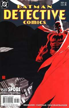 Copertina DETECTIVE COMICS n.777 - Dead Reckoning, Part One, DC COMICS