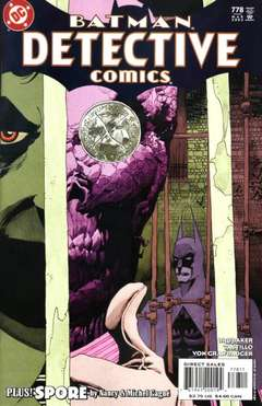 Copertina DETECTIVE COMICS n.778 - Dead Reckoning, Part Two, DC COMICS