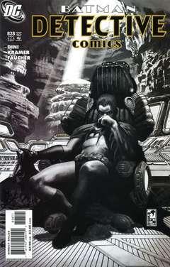 Copertina DETECTIVE COMICS n.828 - Sharkbite, DC COMICS
