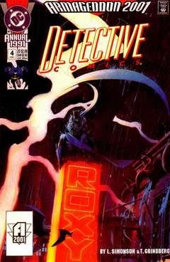 Copertina DETECTIVE COMICS ANNUAL n.4 - Succession, DC COMICS