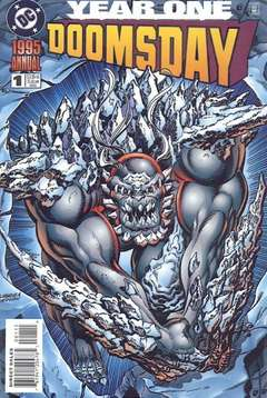 Copertina DOOMSDAY ANNUAL n.1 - DOOMSDAY ANNUAL              1, DC COMICS