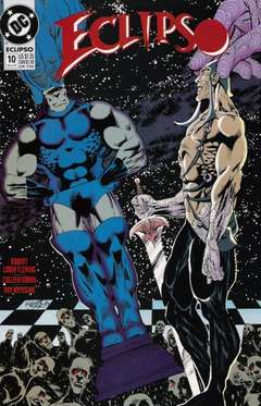 Copertina ECLIPSO S18 n.10 - Black Pieces, DC COMICS