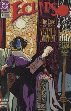 Copertina ECLIPSO S18 n.8 - Good Night Mr. Holmes!, DC COMICS