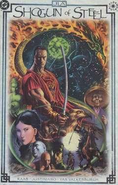 Copertina ELSEWORLDS n.17 - SHOGUN OF STEEL, DC COMICS