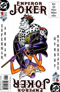 Copertina EMPEROR JOKER n. - It's a Joker World, Baby, We Just Live In It, DC COMICS