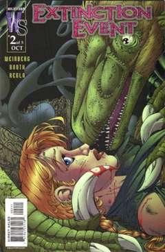 Copertina EXTINCTION EVENT M5 n.2 - Resurrection Day, DC COMICS
