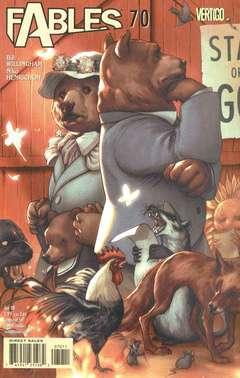 Copertina FABLES n.70 - Kingdom Come, DC COMICS