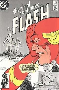 Copertina FLASH 1959 n.344 - Betrayal!, DC COMICS