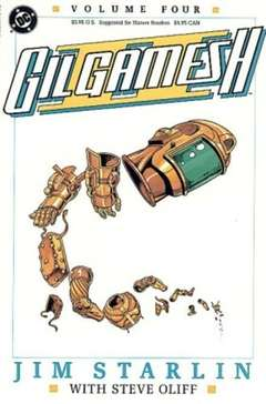 Copertina GILGAMESH II M4 n.4 - Much to Do About Nothing, DC COMICS