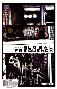Copertina GLOBAL FREQUENCY M12 n.12 - Harpoon, DC COMICS