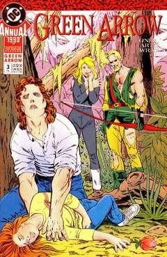 Copertina GREEN ARROW 1988 ANNUAL n.3 - A Walk in the Wind, DC COMICS