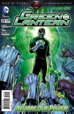 Copertina GREEN LANTERN 2011 n.21 - Dark Days Ahead, DC COMICS