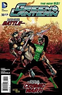 Copertina GREEN LANTERN 2011 n.30 - Death and Life, DC COMICS