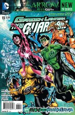 Copertina GREEN LANTERN NEW GUARDIANS n.13 - All the Rage, DC COMICS