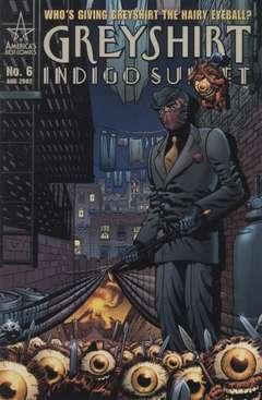 Copertina GREYSHIRT INDIGO SUNSET M6 n.6 - Shroom!, DC COMICS