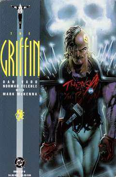 Copertina GRIFFIN M6 n.2 - Chapter 3: Old Wounds, DC COMICS