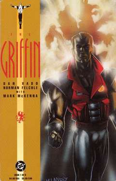 Copertina GRIFFIN M6 n.1 - Chapter 1: The Griffen Returns, DC COMICS