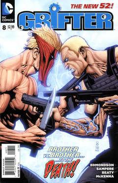 Copertina GRIFTER 2011 n.8 - ...Must Come Down, DC COMICS