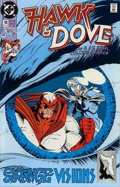 Copertina HAWK AND DOVE S28 n.10 - Strange Behavior, DC COMICS
