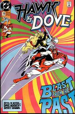 Copertina HAWK AND DOVE S28 n.13 - Blast from the Past, DC COMICS