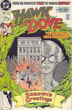Copertina HAWK AND DOVE S28 n.20 - A Babe in Toyland, DC COMICS