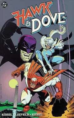 Copertina HAWK & DOVE PAPERBACK n.1 - Hawk and Dove, DC COMICS