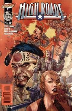 Copertina HIGH ROADS M6 n.4 - Chapter Seven - Eight, DC COMICS