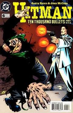 Copertina HITMAN S60 n.6 - Ten Thousand Bullets, Part 3, DC COMICS