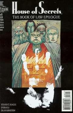 Copertina HOUSE OF SECRETS S25 n.16 - The Book of Law, Epilogue: Plyck, DC COMICS