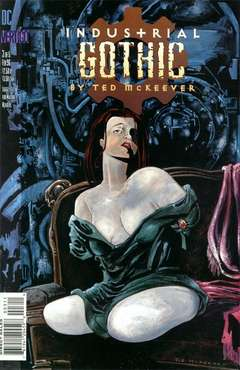 Copertina INDUSTRIAL GOTHIC M5 n.3 - Traces of Lilac, DC COMICS
