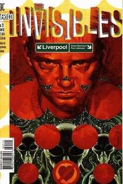 Copertina INVISIBLES VOL.I 1994 M25 n.21 - Liverpool, DC COMICS